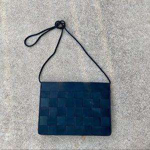 Vintage 50s Ribbon Woven Harvey's Bag Le Regale